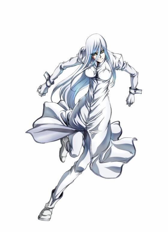 Concept art anime Drifters Анастасия Романова
