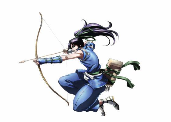 Concept art anime Drifters Насу-но Ёити