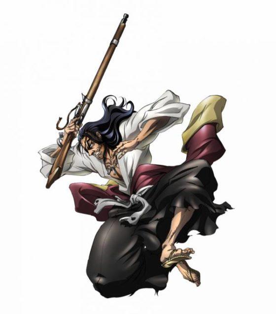 Concept art anime Drifters Ода Нобунага