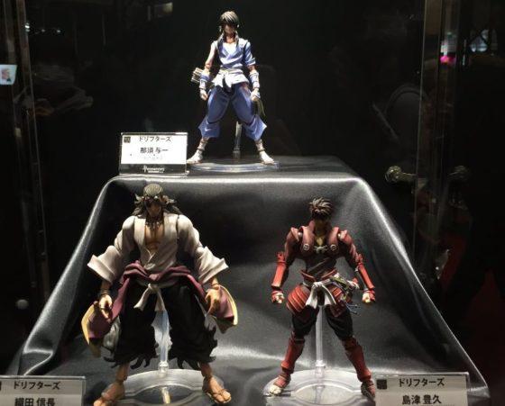 Ода Нобунага, Тоёхиса Симадзу и Насу-но Ёити на Wonder Festival [4 фото]