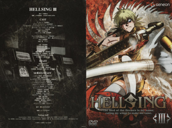 hellsing ova official art